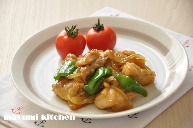 鶏肉のストックおかず『鶏と野菜のカレー炒め』