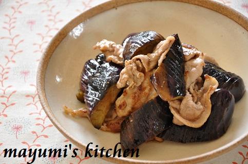 フライパンひとつで☆揚げ焼きなすと豚肉の揚げ浸しと、なすの保存
