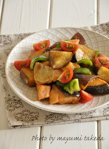 魚がおいしいストックおかず☆鮭と野菜の甘酢炒めと、鮭の保存のこと。
