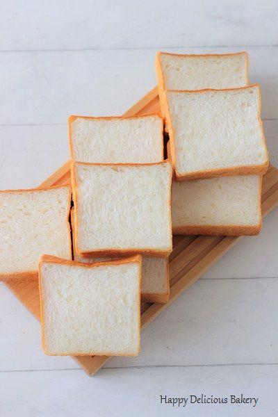 しっとりほわほわな角食パン