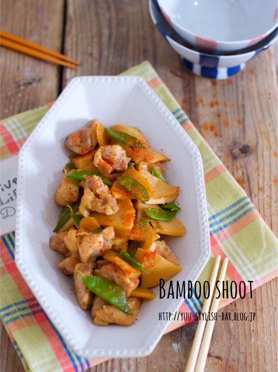 冷めてもしっかり美味しい♡ご飯がすすむ♡『鶏肉とたけのこの甘辛煮』