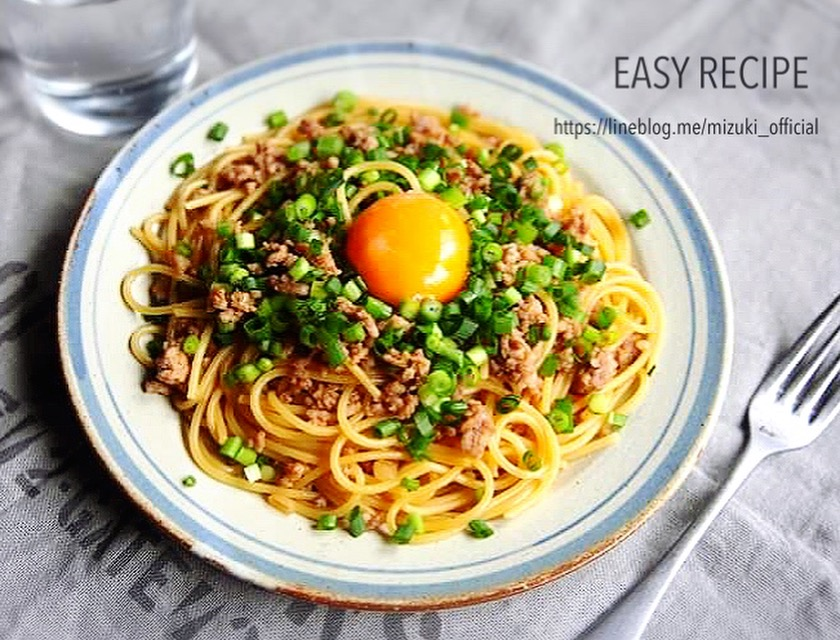 ♡簡単・時短・節約♡ひき肉の甘辛パスタ♡【#コスパ#麺#連載】
