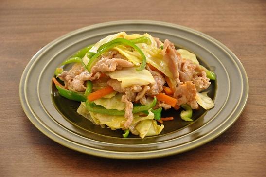 1人分88円調理時間10分のストックおかず♡みそ豚こまと野菜の炒め物