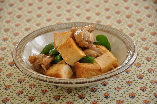 1人分134円♡調理時間10分のストックおかず【鶏肉と厚揚げのおろし玉ねぎ炒め】