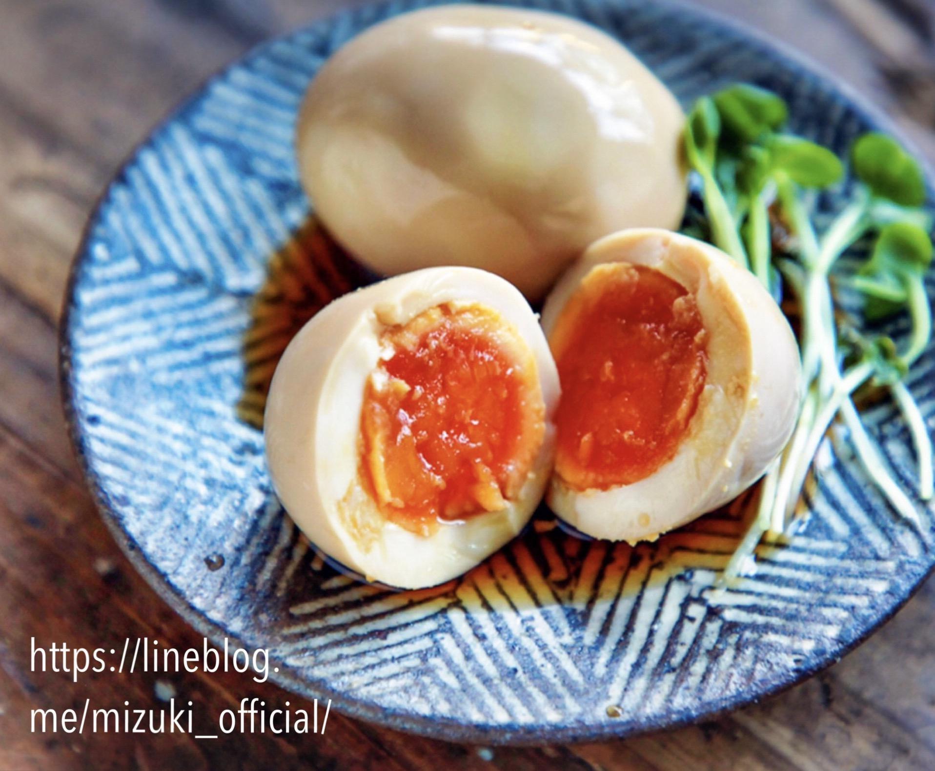♡八方だしdeお手軽煮卵(味玉)♡【#簡単レシピ#作り置き#ミツカン】