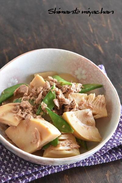 タケノコとツナ缶のうま煮