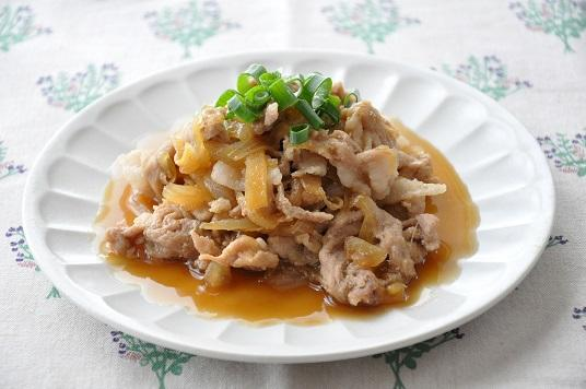 豚肉と玉ねぎで♪豚肉と玉ねぎの甘辛煮