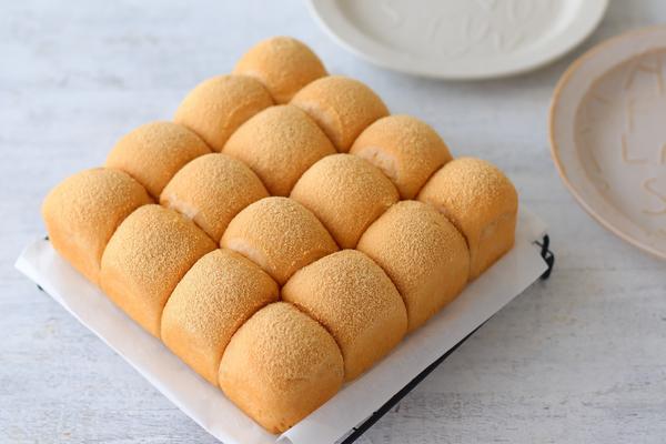 黒糖きな粉ちぎりパン