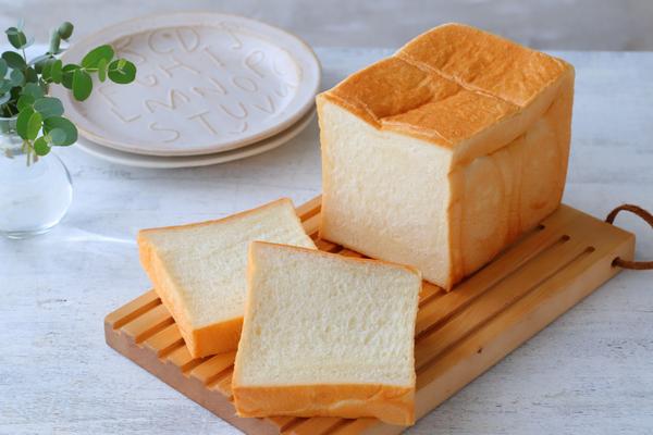 流行りの生食パン風ミルク角食パン