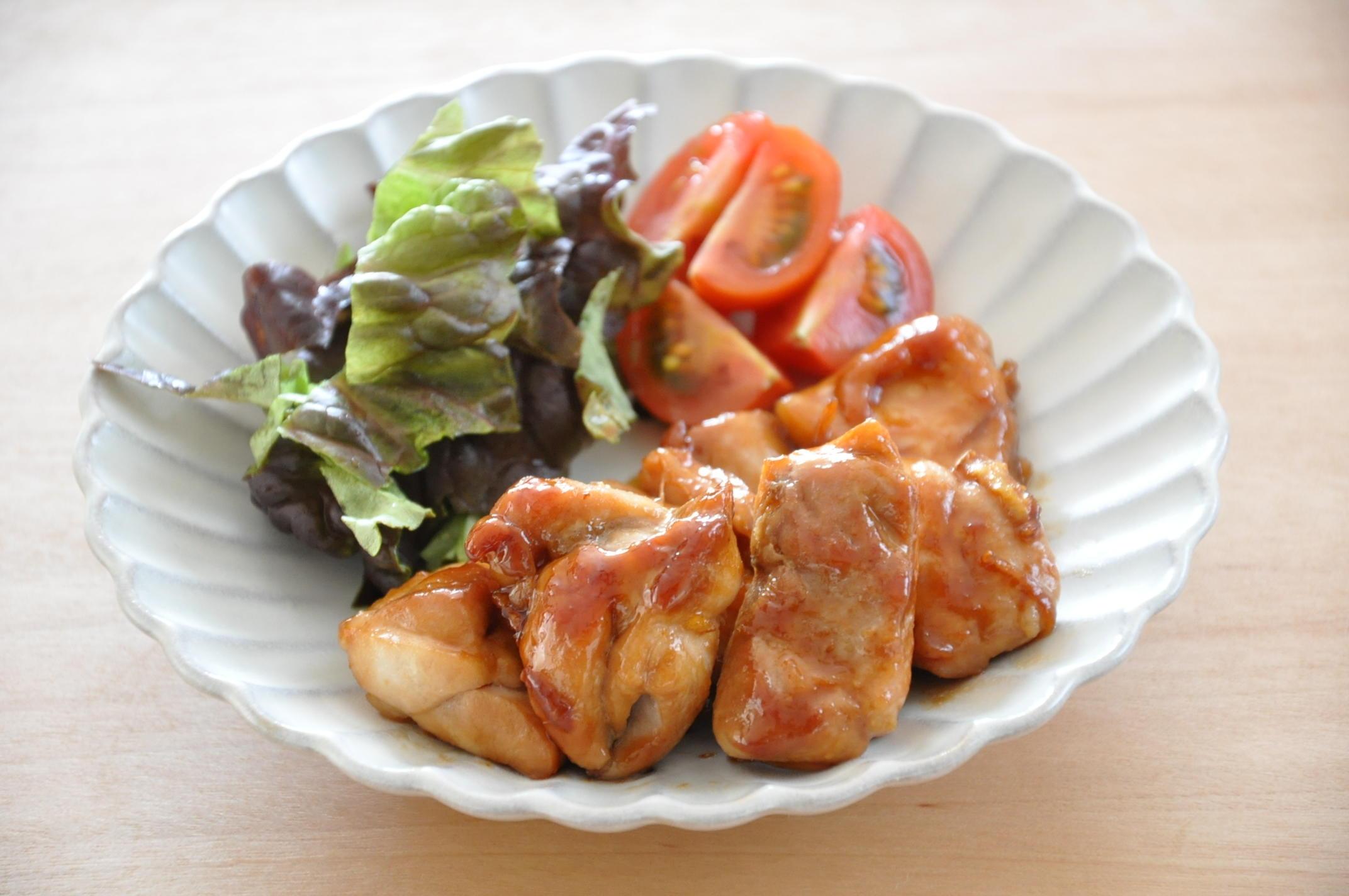 甘辛味がごはんにぴったり♪お弁当おかずにもおすすめ「鶏肉の照り焼き」