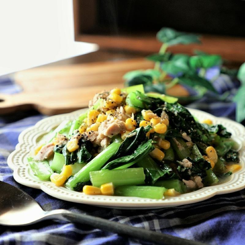 お子さまにも食べやすい!「ツナとバター」で仕上げる野菜のミニおかず
