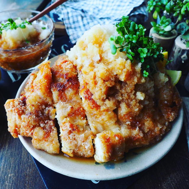 あと味さっぱり!「おろしポン酢」でいただく鶏むね肉おかず