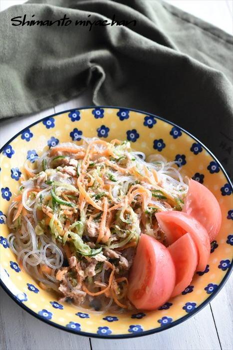 ツナと春雨の中華サラダ