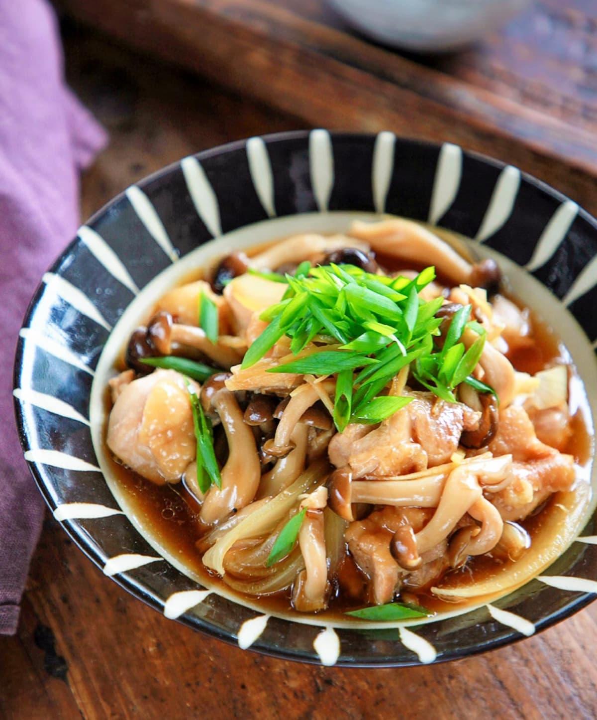 ♡鶏肉ときのこのほったらかし煮♡【#簡単レシピ#煮物#時短#節約】