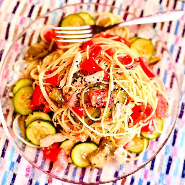 夏に食べたい♪「ズッキーニの冷たいパスタ」5選