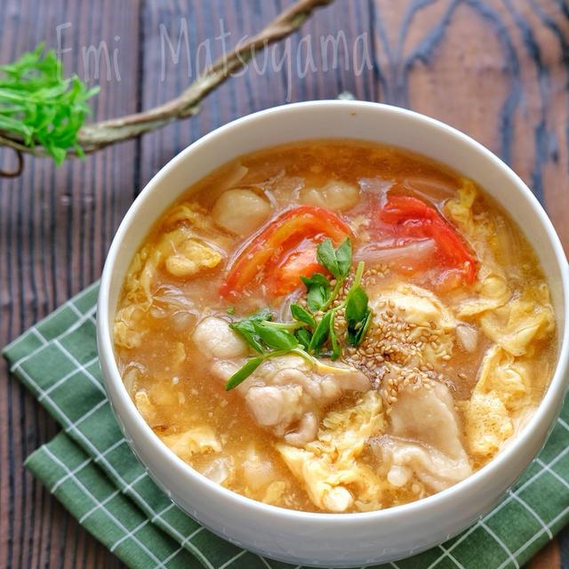 ふわふわ卵がおいしい♪「かき玉スープ」5選