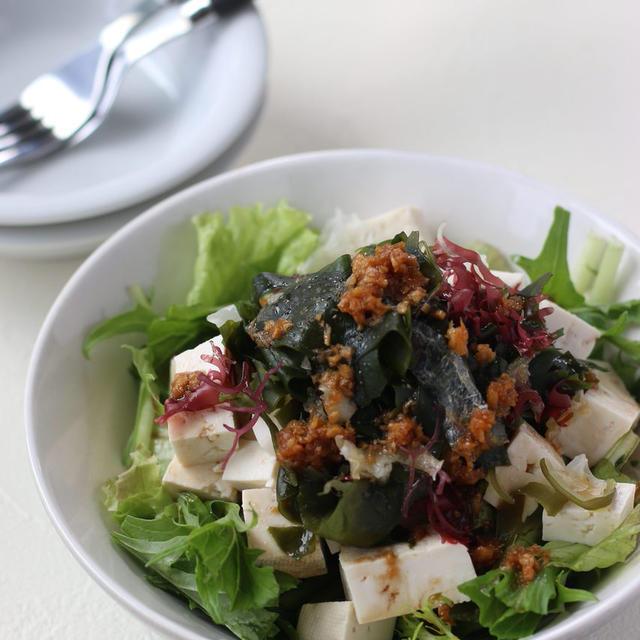 ヘルシーおいしい♪「海藻×豆腐」のおすすめレシピ