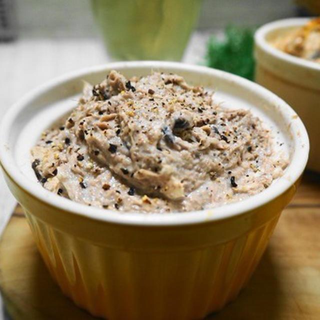 ストック食材で簡単に作れる♪「さば缶のリエット風」レシピ