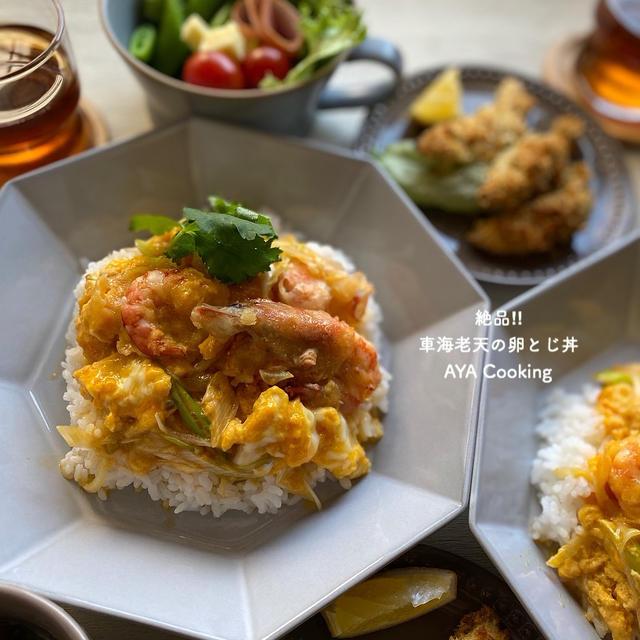 余った天ぷらを卵でとじるだけ♪「天とじ」レシピアイデア