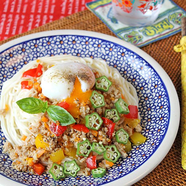 ご飯以外でもおいしい!「麺×ガパオ」アイデア5選