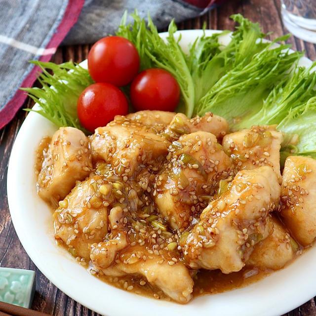 あと味すっきり!「甘酢ごまだれ」が決め手の鶏肉レシピ