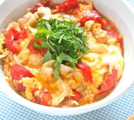 ジューシー感アップ♪「トマト×お肉」の丼レシピ