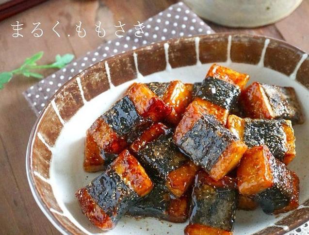 お財布にやさしくボリューム満点!「豆腐・厚揚げの磯辺焼き」絶品バリエ