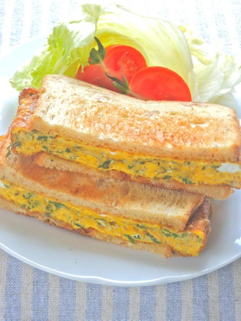 さわやかな味わいが最高!「大葉の和風サンドイッチ」を作ってみよう♪