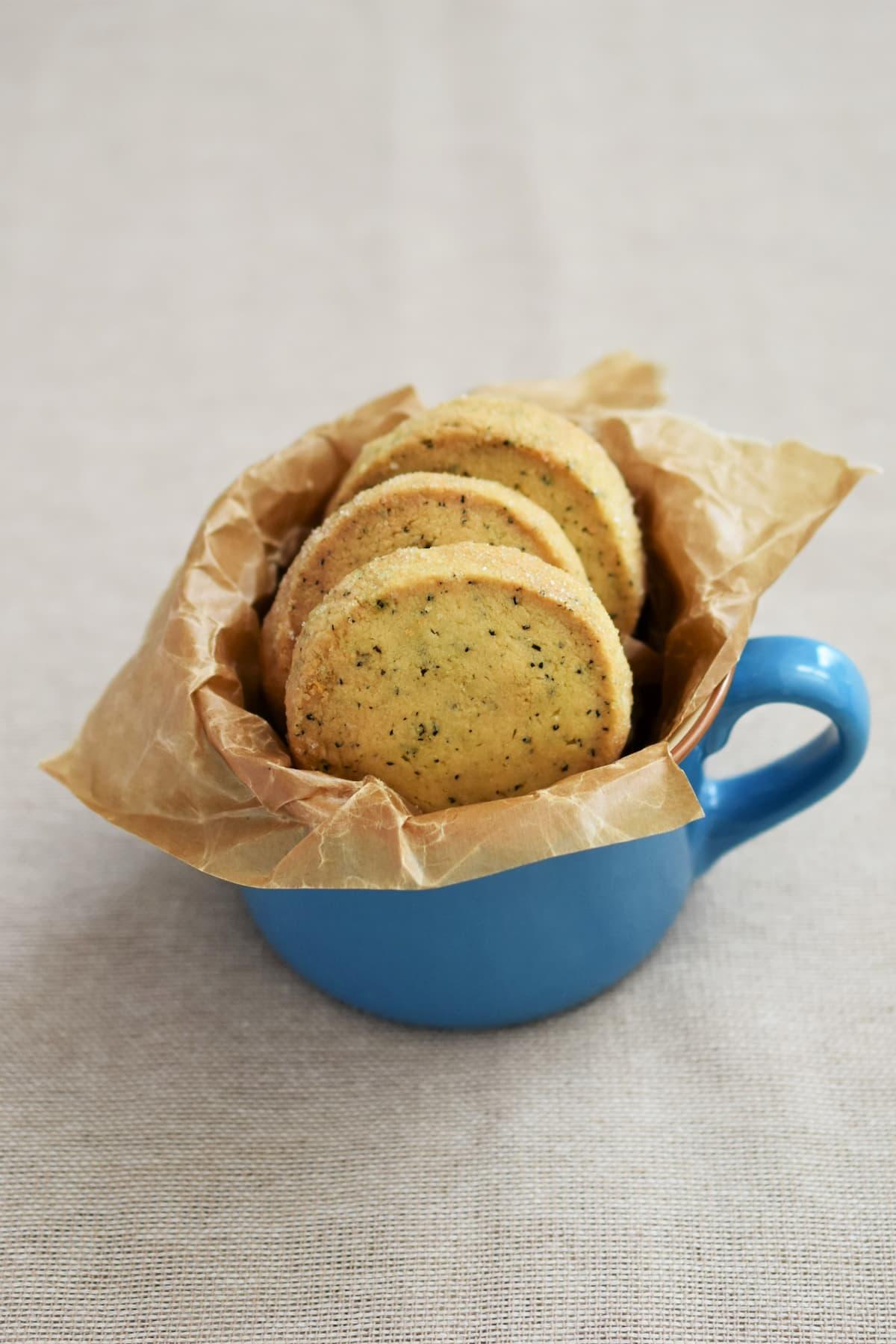 サクサクほろほろ♪「基本の紅茶クッキー」
