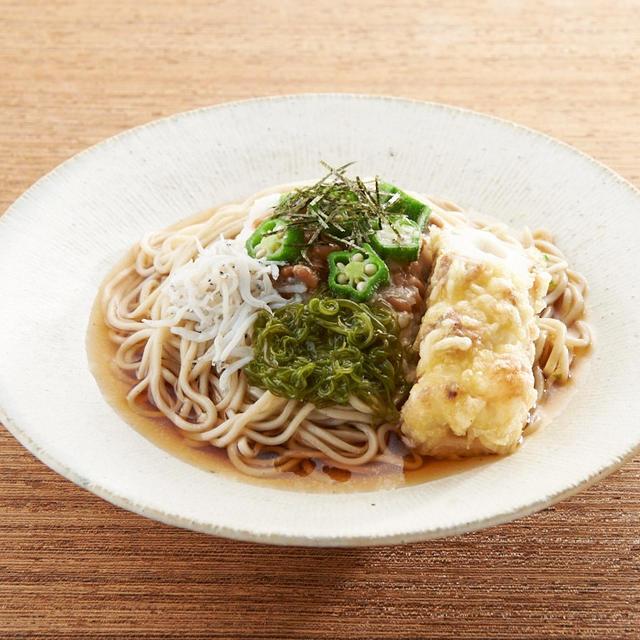 おうちでおいしく♪「天ぷらそば」の作り方
