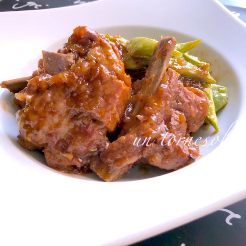 こってり味でおいしい!豚スペアリブの中華風おかず