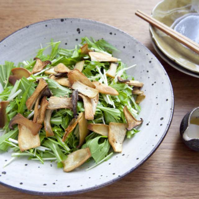 食べごたえアップ!いろいろきのこのサラダレシピ