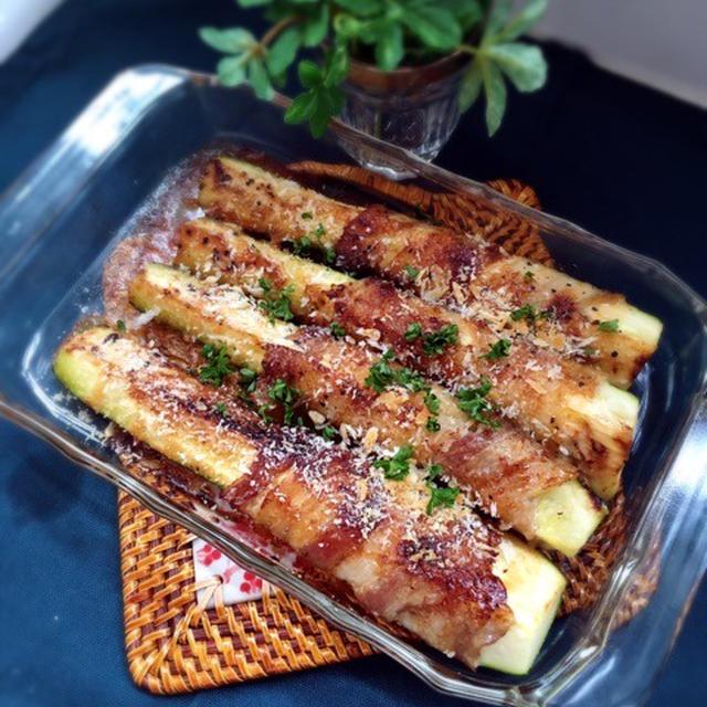 サクサク感がたまらない♪「ズッキーニのパン粉焼き」レシピ