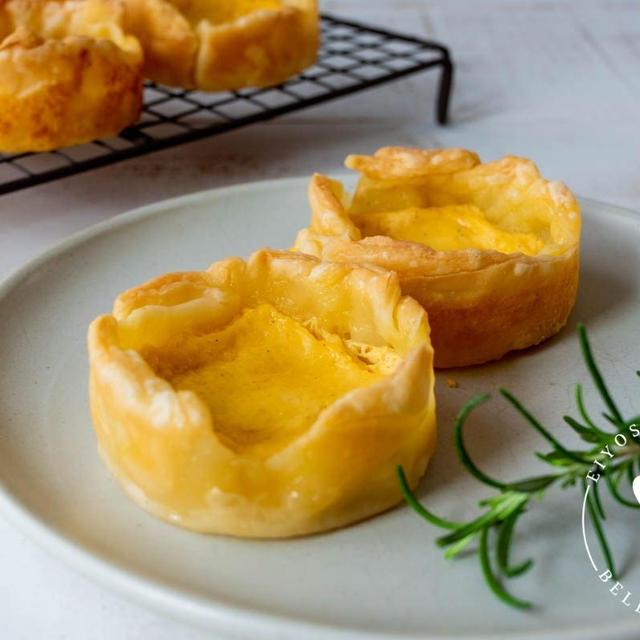 ハマるおいしさ♪おやつに食べたい「エッグタルト」レシピ