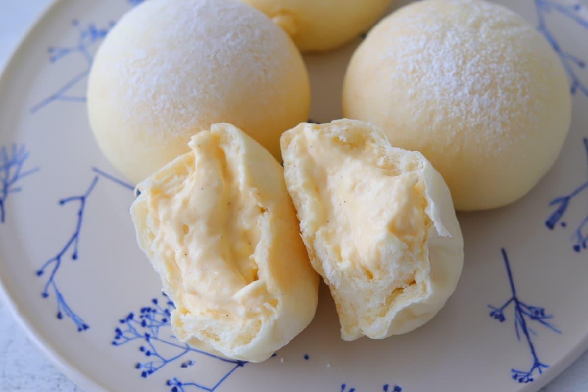 至福の味わい♪「生・ふわふわクリームパン」