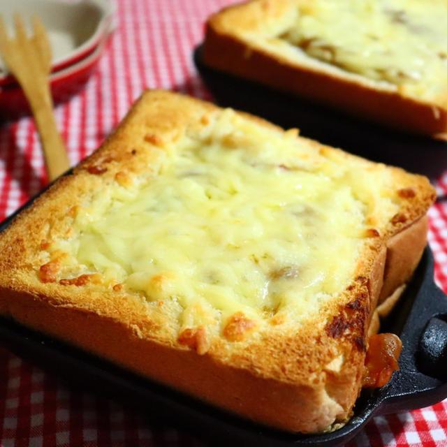 食欲をそそるいい香り♪「カレートースト」おすすめレシピ