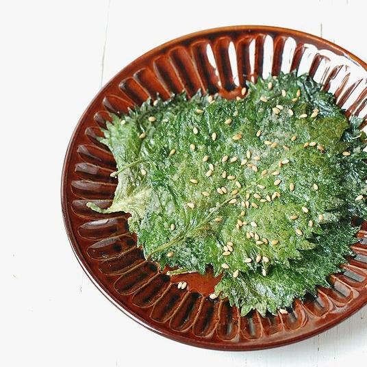 大葉のパリパリごま焼き!うさぎママさんのフライパン1つでスピードおつまみ&副菜
