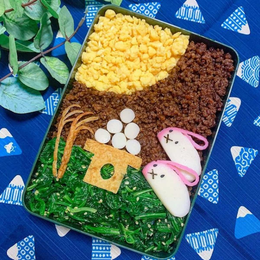 そぼろごはんで作る「#お月見弁当」で満月を楽しもう♪