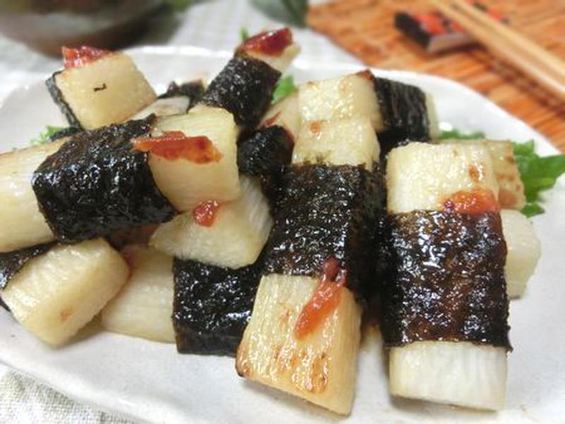 風味アップ!「長芋×海苔」のレシピバリエ