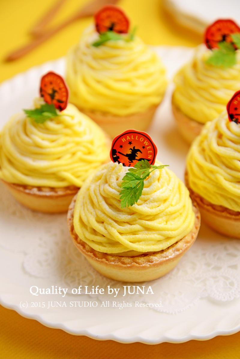 作っておけばアレンジ無限!「かぼちゃクリーム」で作るハロウィンスイーツ