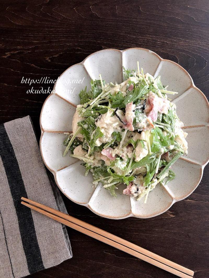 裏ごし不要!気軽に作れる「白和えサラダ」レシピ