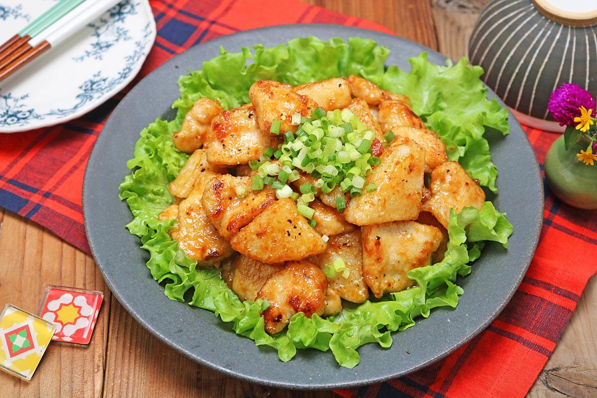 味噌だれでごはんが進む♪「長芋と鶏むね肉の味噌照り焼き」