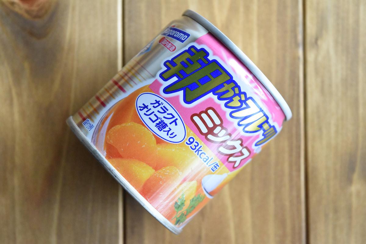 使用したフルーツ缶