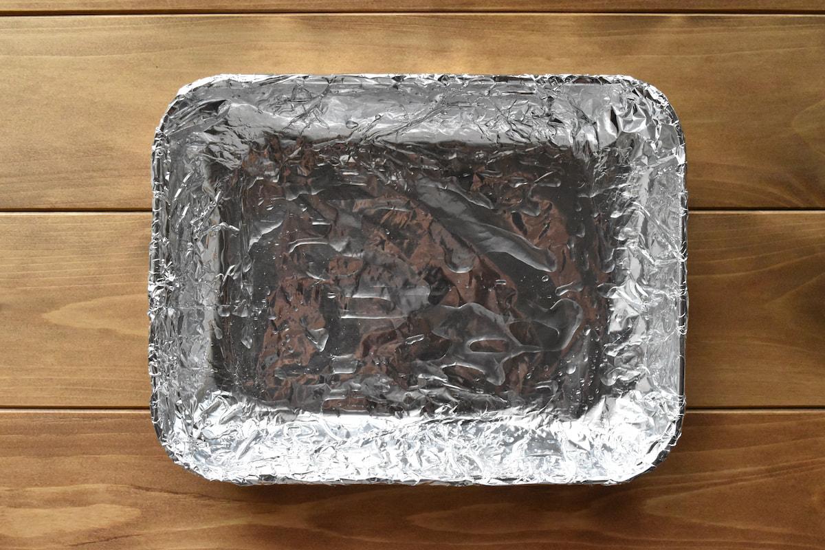 ケーキを焼く型