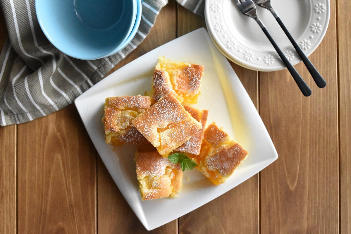 トースターで簡単!フルーツ缶で作る「簡単フルーツケーキ」