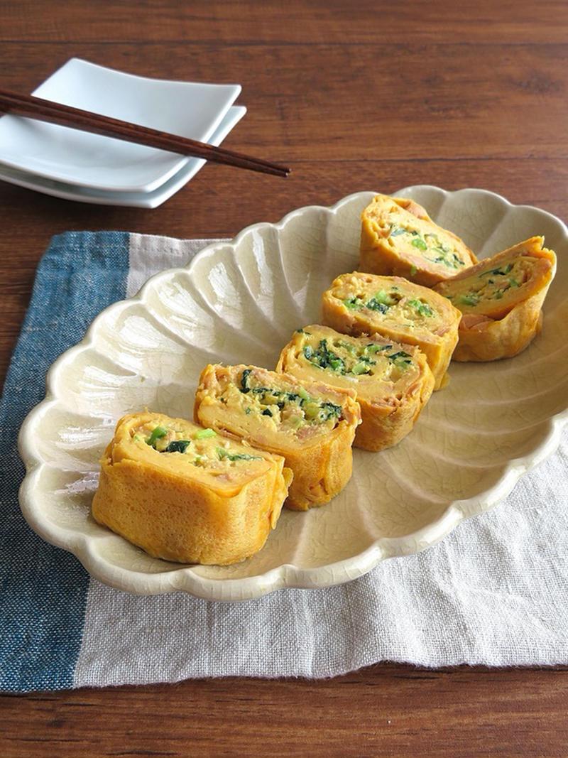 ボリュームアップできる!ツナ入り卵焼きがお弁当やおつまみにぴったり