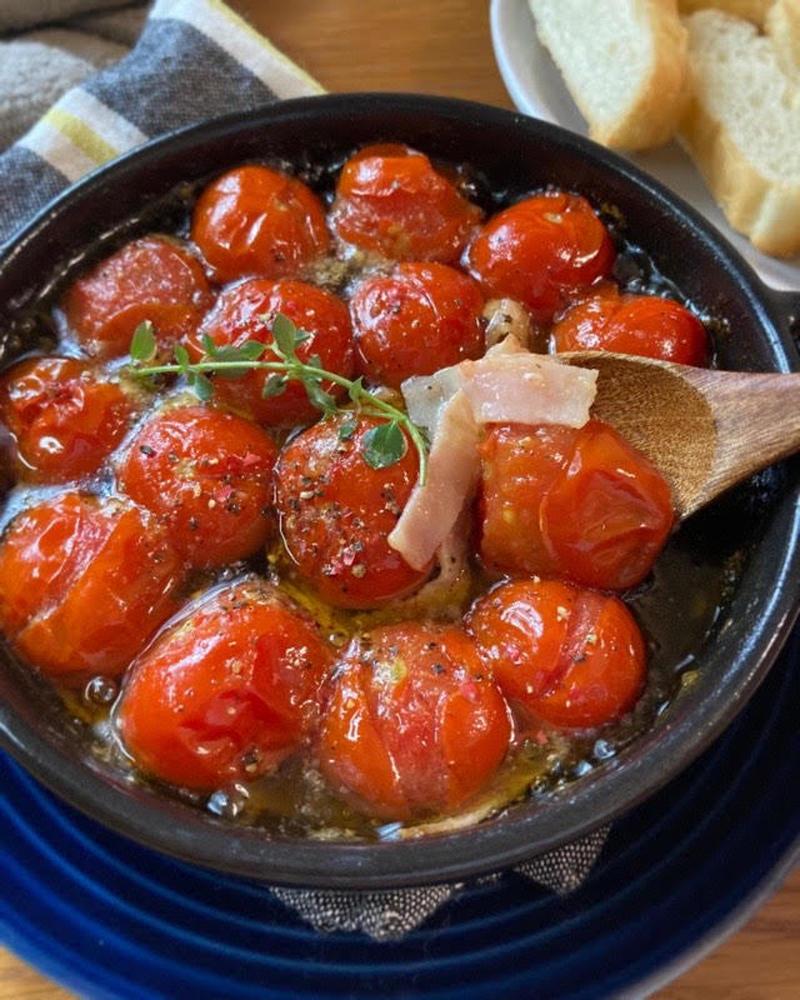 おつまみに最高!「トマトのアヒージョ」を作ってみよう♪