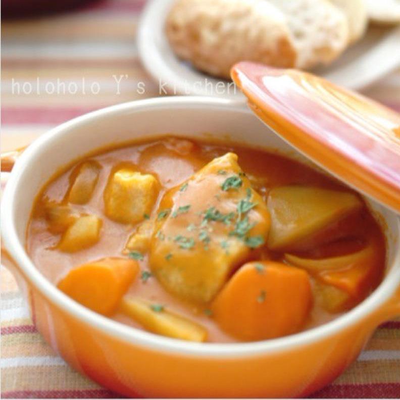 いつもの味をアレンジ♪「トマトクリームシチュー」を作ってみよう!