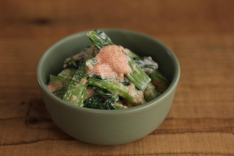 おつまみ、副菜に!明太マヨ和えのお手軽レシピ
