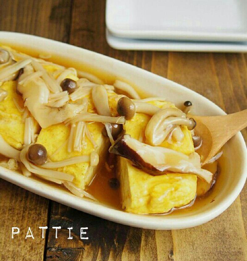 ボリュームもおいしさもアップ♪「卵焼き×きのこ」のおすすめレシピ